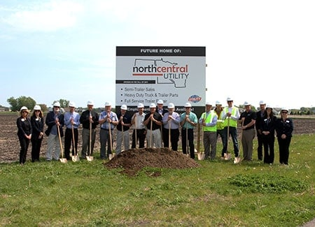 Ground Breaking North Mankato Location