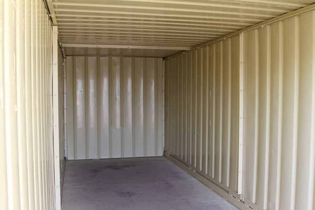 storage container inside