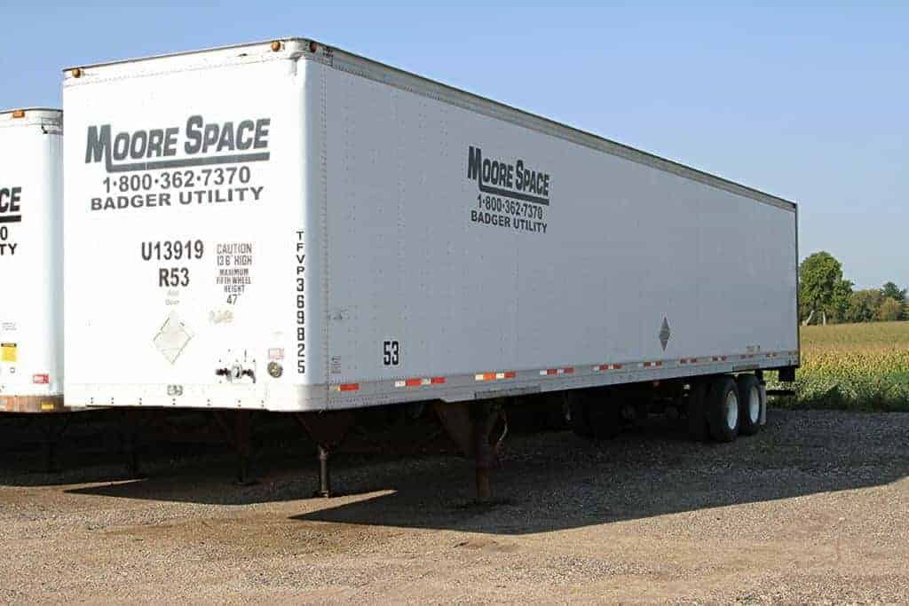 moore space storage trailer