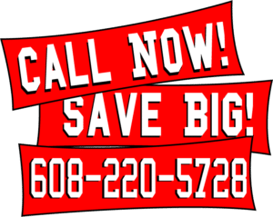 save big call now sales banner
