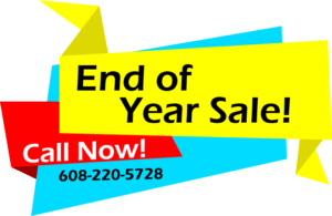end of year sales banner